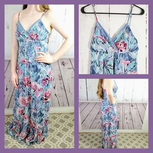 FREE SHIPPING! Candies Floral Maxi Dress